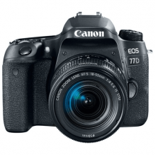 Фотоаппарат цифровой Canon EOS 77D 18-55 IS STM
