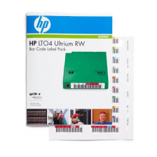 Наклейка HP LTO4 Ultrium RW Bar Code Label Pack