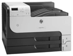 HP LaserJet Enterprise 700 Printer M712dn (A3, 1200dpi, 40ppm, 512Mb, 3trays 250+250+100, USB2.0/extUSBx2/GigEth/HIP/ePrint, 1y warr, repl. Q7543A, Q7545A